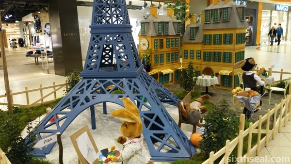 france easter display