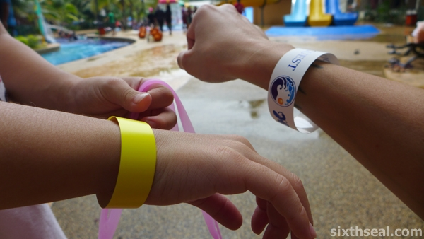 waterpark tags