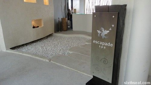 escapade spa
