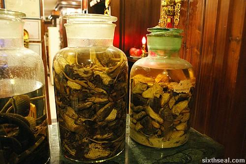 snake wine jars