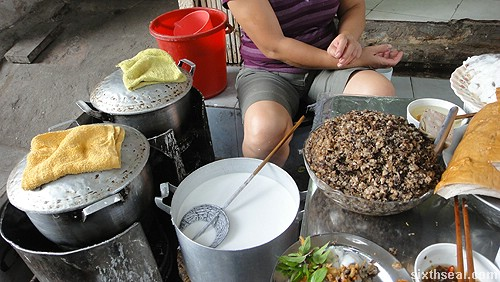Goi Cuon preparation