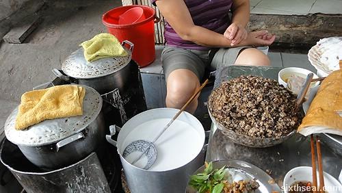 Goi Cuon preparation