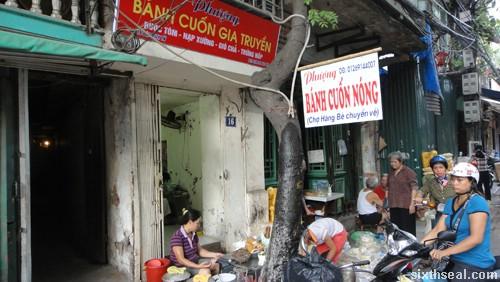 Goi Cuon stall