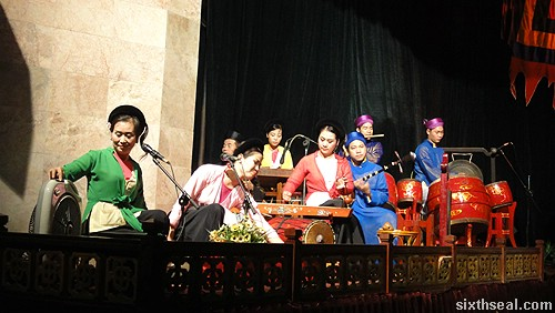 Thang Long Water Puppet Theatre orchestra