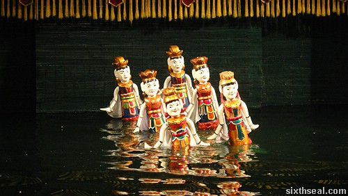 Thang Long Water Puppet Theatre puppets