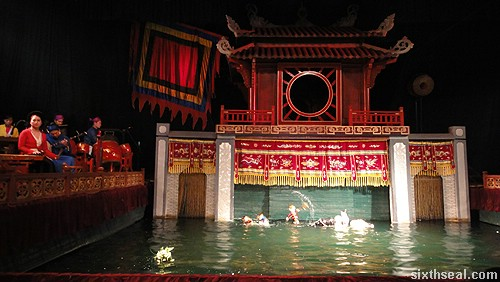 Thang Long Water Puppet Theatre stage