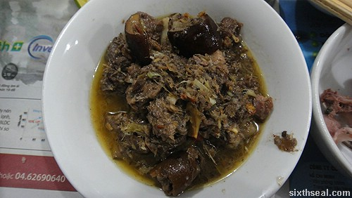 dog meat stew