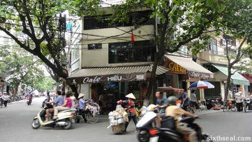 hanoi coffee outlet