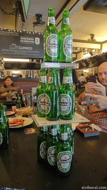beer jenga