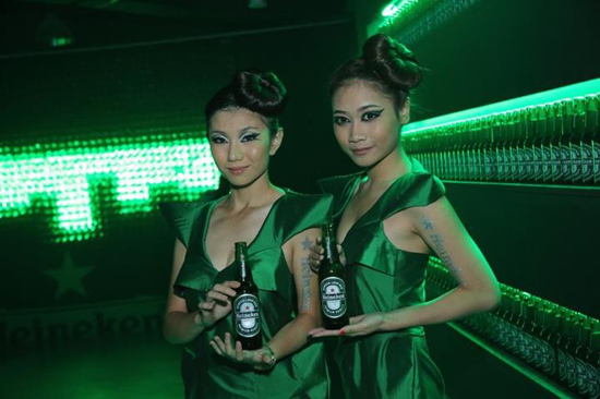 heineken girls
