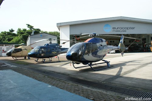 eurocopter hangar