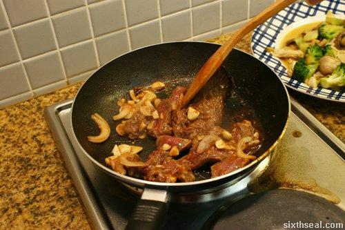 fry beef