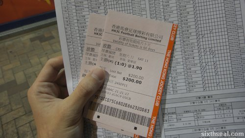 football betting hong kong