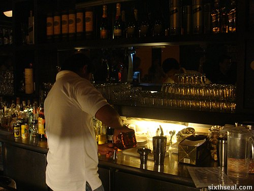 ipanema bartender