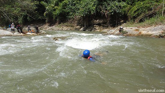 white water rafting training