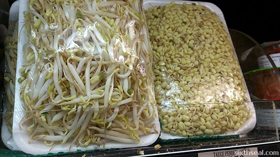 short bean sprouts