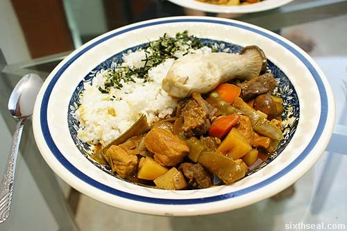 japanese curry dish