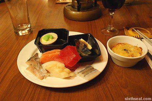 jogoya sashimi