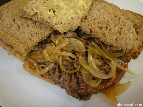 jr steak sandwich macro