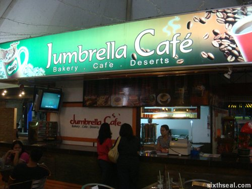 jumbrella cafe counter