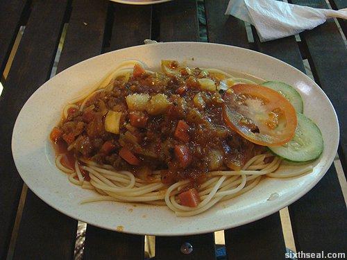 jumbrella spaghetti