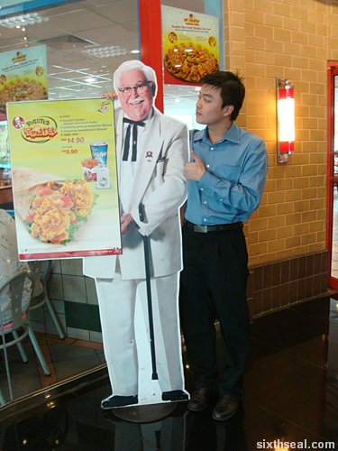 kfc twisted toaster colonel