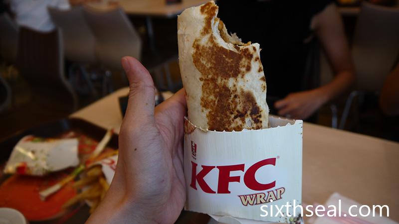 Handy KFC Wrap