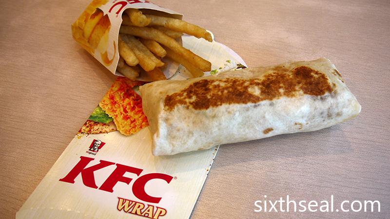 KFC Wrap