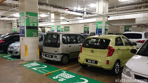 picanto parking