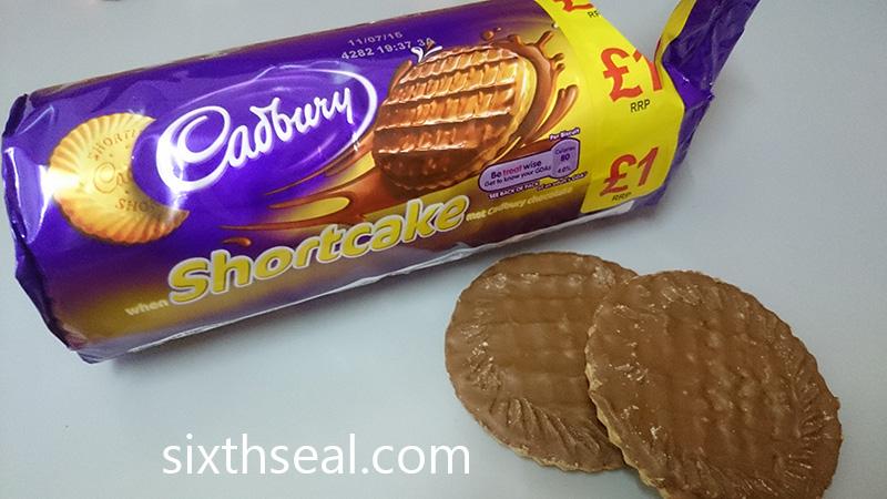 Cadbury Shortcake