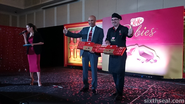 Kit Kat Rubies Launch