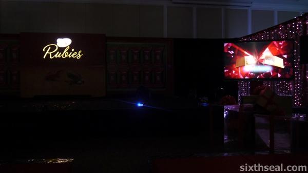 Kit Kat Rubies Presentation