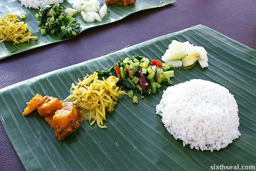jothys banana leaf rice