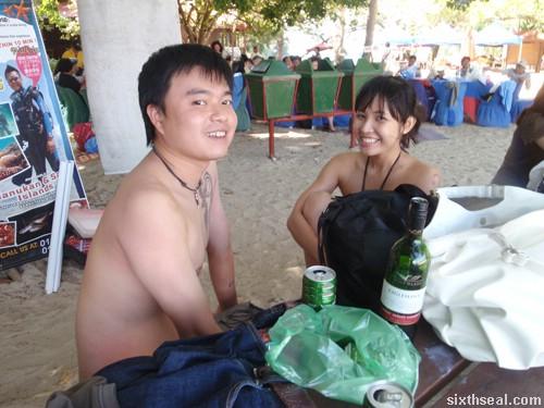 pulau sapi after snorkling