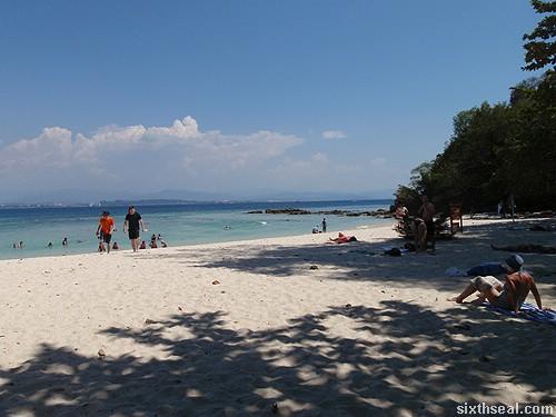 pulau sapi beach