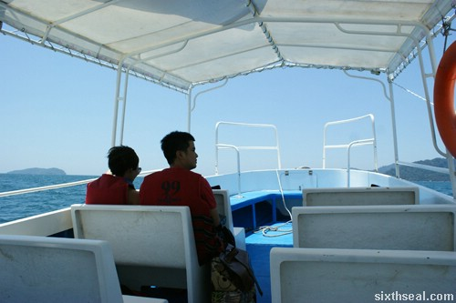 pulau sapi boat