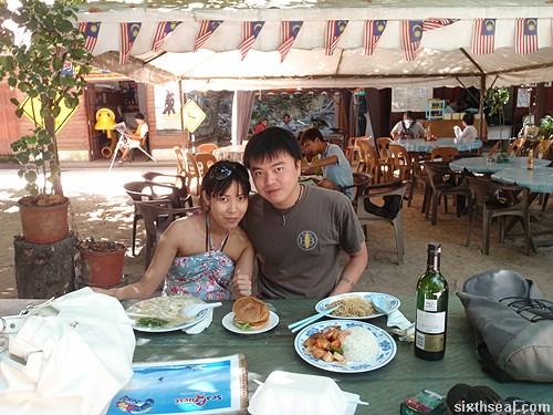 pulau sapi food