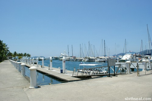 pulau sapi sutera harbour marina