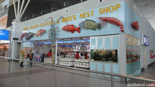 dried frozen seafood and birds nest shop