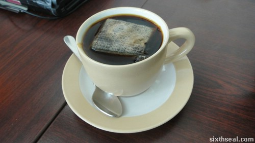tenom coffee black