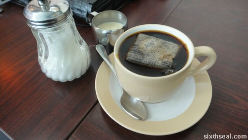tenom coffee milk sugar