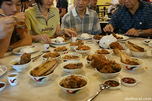 klang bak kut teh dishes