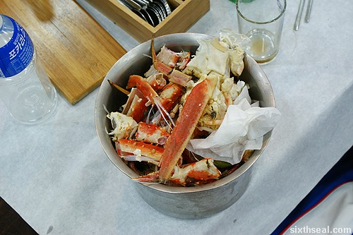 Alaskan King Crab bucket
