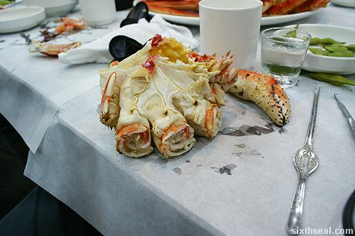 Alaskan King Crab flesh