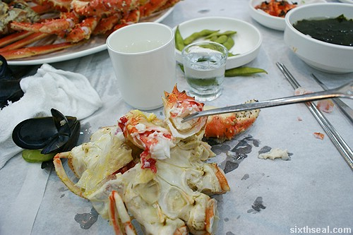 Alaskan King Crab fork