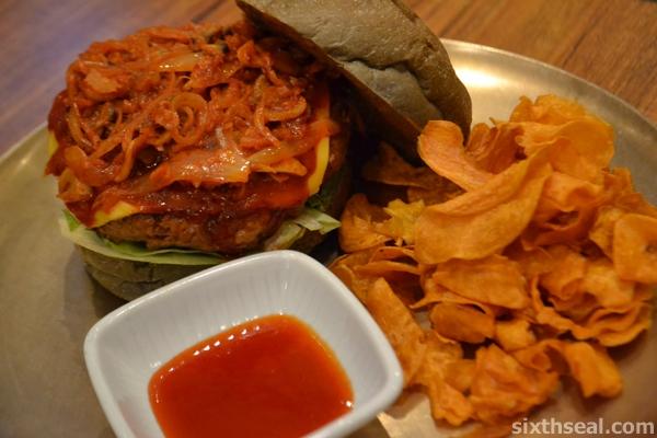 Kimchi Burger
