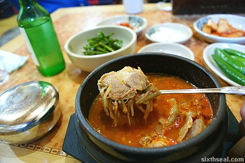 Korean Dog Soup Dog Meat Soup