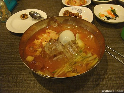 koreana cold noodles