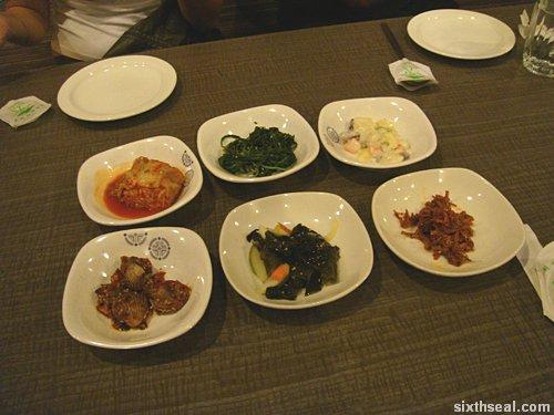 koreana entrees