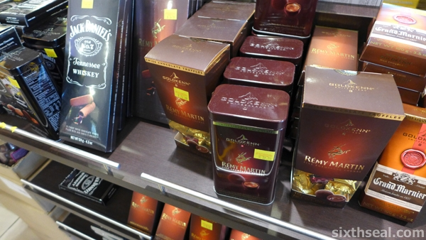 cognac chocolates